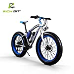 RICH BIT Bici elettrica RT-022 1000W Motore brushless 48V * 17Ah LG li-Battery Smart e-Bike Freno a Doppio Disco Shimano…