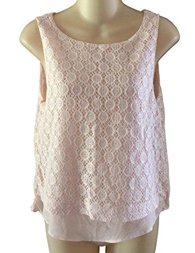 banana-republic-womens-light-peach-lace-sleeveless-blouse-tank-top-medium