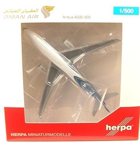 - Herpa 530484Oman Airbus A330-300–A40di Miniature Vehicle