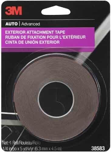 Right Black Genuine Hyundai 86361-38000 Door Sash Tape Front