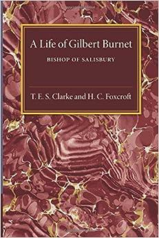 Book A Life of Gilbert Burnet