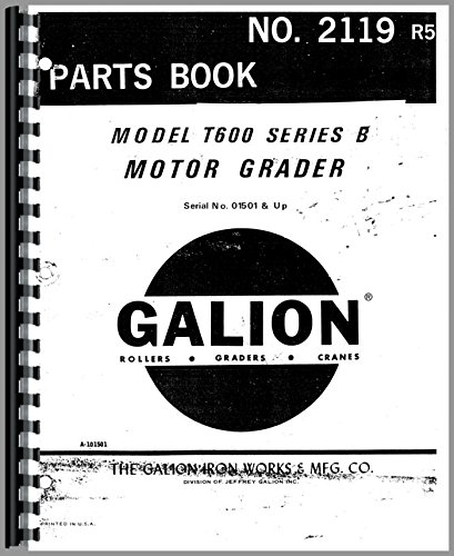 galion-t-600b-grader-parts-manual