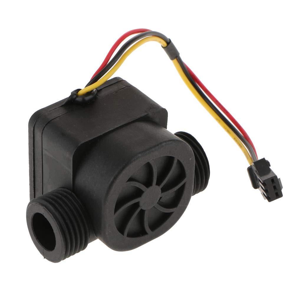 perfk 1 Pc G1/2' Hall Effekt Durchflusssensor Wasser Durchflussmesser Schalter 1-30L/min
