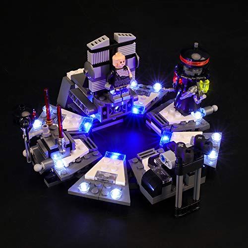 Conjunto de luces LIGHTAILING para (Star Wars Darth Vader Transformation) Modelo de bloques de construcción - Kit de luces LED Compatible con Lego 75183 (NO incluido el modelo)