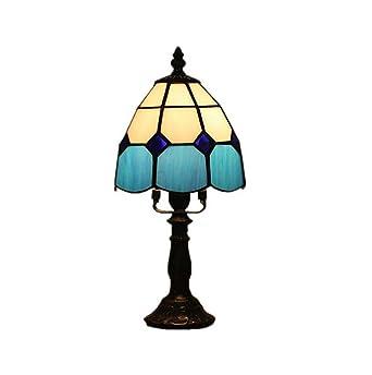 6-inch Tiffany lámpara de mesa mediterráneo de la mano ...