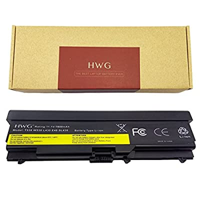 HWG T530 Battery 87 Wh 9 Cells for Lenovo ThinkPad T430 T430I T530 T530I W530 SL430 SL530 L430 45N1007 45N1006 0a36303 by Hwg