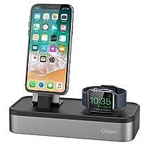 Oittm Apple Watch/スマホ充電スタンド 5in1 USB充電器 多機能充電...