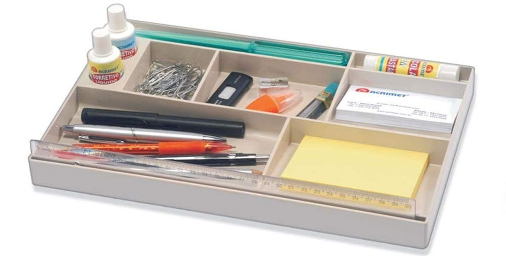 Organiseur de tiroir Blanc/ Acrimet