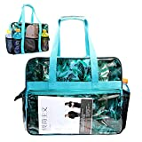 Beach Bag with Multi Pockets Extra Large Waterproof Utility Beach Tote for Women For Sale