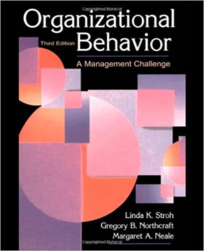 group and organizational behavior essay People would try to use the structureless group and the informal conference for purposes for which they were unsuitable out of a blind belief that no other means.