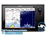 Tuff Protect Crystal Clear Screen Protectors for Simrad NSS12 Fish Finder