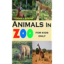 Today I Show: animals in zoo for kids only