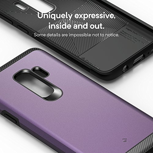 Caseology Legion for Galaxy S9 Plus Case (2018) - Reinforced Protection - Lilac Purple