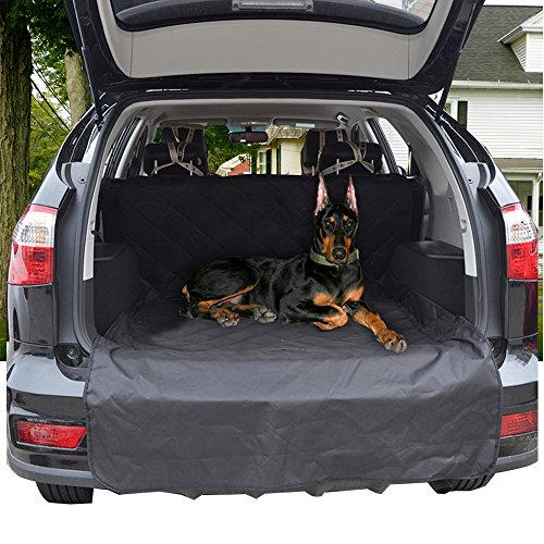 waterproof pet car seat cover dog hammock for car truck suv non slip backing and durable seat. Black Bedroom Furniture Sets. Home Design Ideas