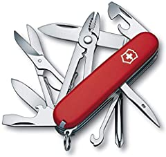 "ESSENTIAL TRAVEL TOOL  Whether you're traveling around the world or working around the house, the 3.6"" Tinker prepares you for any situation. Featuring 12 tools, stainless steel construction, and Swiss-Made precision, you'll be ready to build..."