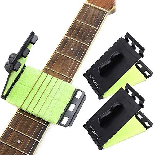 Limpiador de cuerdas de Guitarra - 2 Unidades