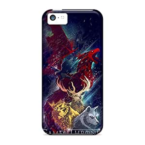 Hot Fashion Osz4479oTky Design Case Cover For Iphone 5c Protective Case (game Of Thrones Collage)