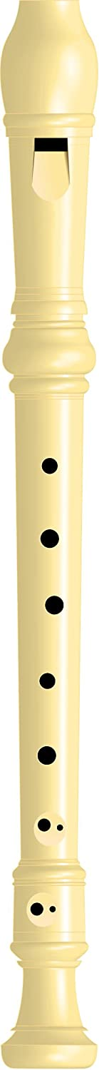 Baroque Fingering Maped Soprano Recorder /& Cleaning Rod 040702