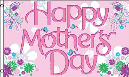 Happy Mother's Day 3x5 ft polyester -