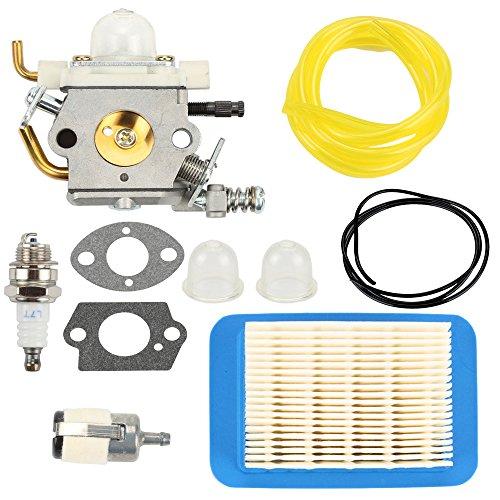 Butom Carburetor+Air Filter+ Gasket+Fuel Line Tune Up Kit for C1M-K77 Echo PB-403H PB-403T PB-413H PB-413T PB-460LN PB-461LN Backpack Blower PB-610 PB-620 PB-620H PB-620ST PB413 PB-400 Carb ()