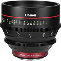 Canon CN-E 50mm T1.3 L F Cine Lens International Version (No warranty)