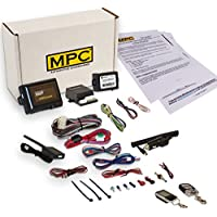 Complete 2 Way LCD Remote Start With Keyless Entry Kit For 2007 Ford F-250 Trucks - Includes Bypass
