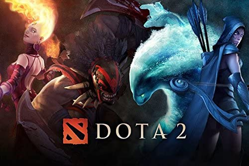 Amazon Com U Like Dota 2 Heroes Art Silk Wall Scroll Posters Hd