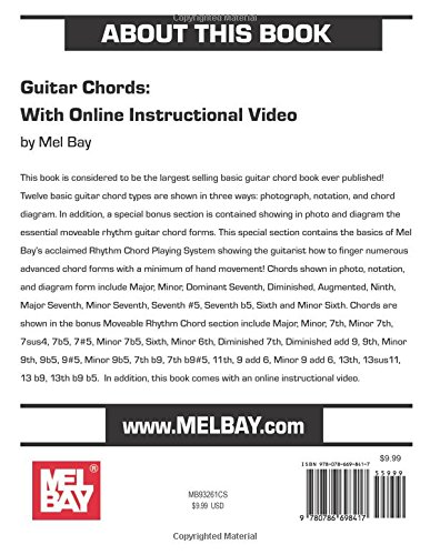 Amazon com: Guitar Chords: With Online Instructional Video