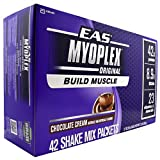 EAS Myoplex Nutrition Shake - Chocolate Cream - Box of 42 Shake Mix Packets 2.7 oz (78 g) each