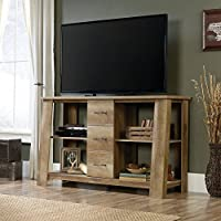 Sauder Boone Mountain TV Stand in Craftsman Oak