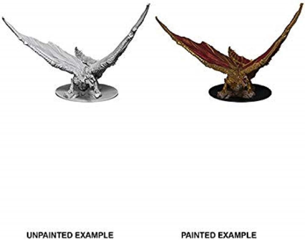 Young Brass Dragon WizKids D/&D Nolzurs Marvelous Miniatures