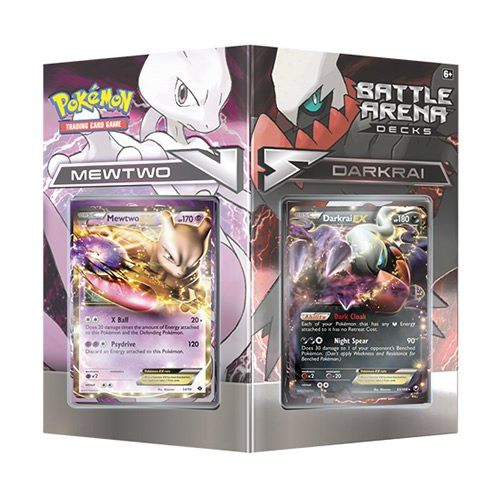 TCG Battle Arena Decks: Mewtwo vs. Darkrai Card Game (Discontinued by manufacturer) (Best Starter Pokemon In Black And White 2)