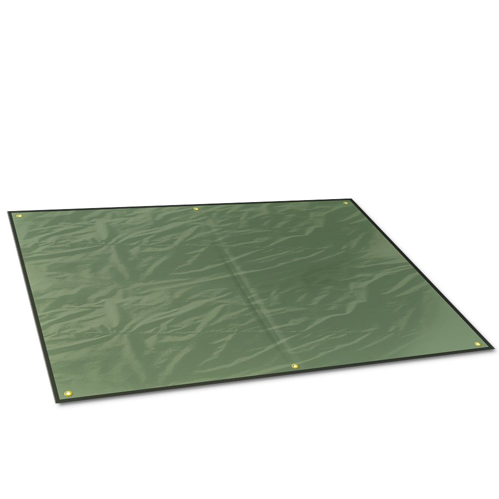 Camping Tarp Picnic Blanket AOPETIO-Rain Shed Sunshade Waterproof Multi-purpose Tent Accessories with Drawstring Carrying Bag
