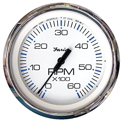 Faria 33807 Chesapeake 6000 rpm Tachometer: Automotive