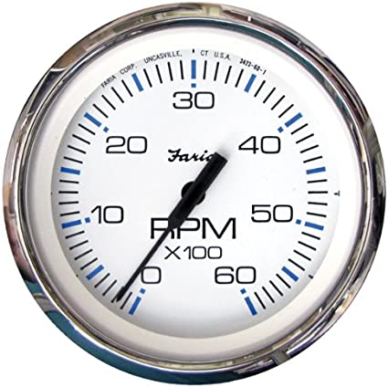 Faria Chesapeake SS Instruments Trim Gauge