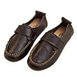 F-OXMY Kids Comfort Soft Oxfords Dress Shoes Non-Slip Rubber Outsole Walking Casual Shoes for Boys Black