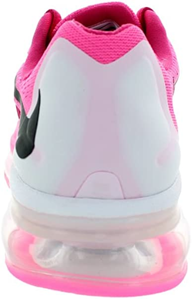 purchase cheap d4fc8 75c84 Nike Kids Air Max 2015 (Gs) Pink Pow Black Vivid Pink . Back. Double-tap to  zoom