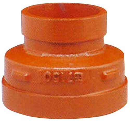 Shurjoint 715032G-G # 7150 Ductile Iron Concentric Reducers, Galvanized, 3