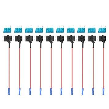 Matefielduk Adaptador Cable Fusible,Añadir Fusible de ...