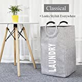 Large Collapsible Laundry Hamper Bag with