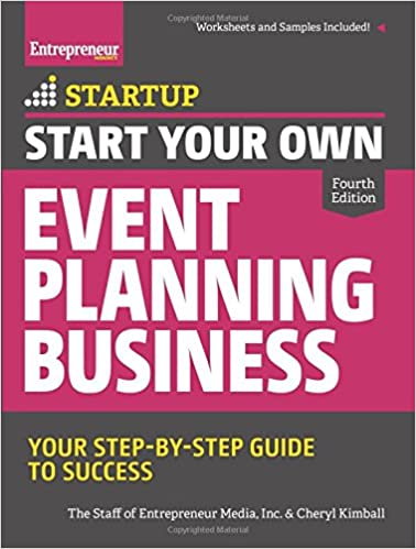 Workbook aa 4th step worksheets : Start Your Own Event Planning Business: Your Step-By-Step Guide to ...