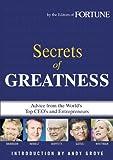 The Secret of Greatness, Fortune Magazine Editors, 1933405902