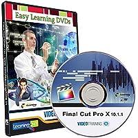 Easy Learning Learn Final Cut Pro X 10.1.1 Video Training Tutorial (DVD)