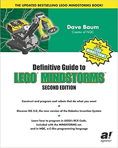 Definitive Guide to LEGO MINDSTORMS, Second Edition: Dave Baum ...