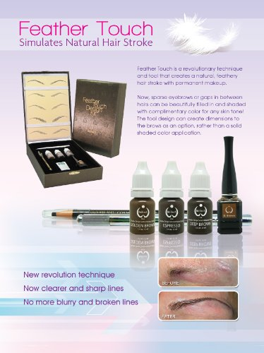 Cosmetic FEATHER TOUCH - Hair Stroke Eyebrow Cosmetic Tattooing by Flawless