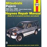 Mitsubishi Pajero Australian Automotive Repair Manual: 1983-1996