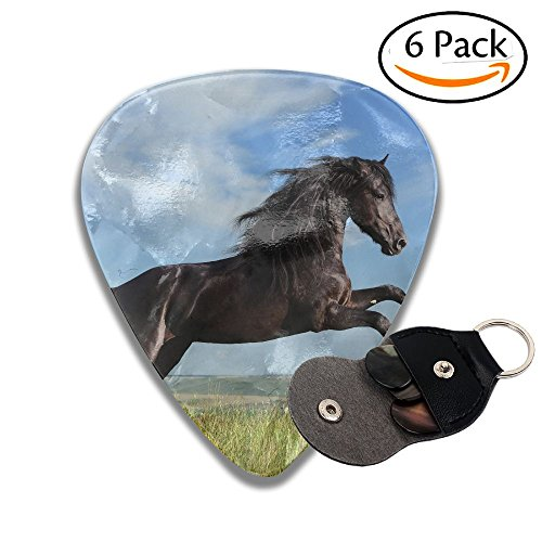 Rape Flowers (Rape Flower Horse Jump Classic Guitar Picks For Electric/acoustic Guitar,and Bass)