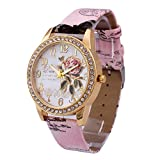 SMTSMT Women's Analog Quartz Business Wrist Watch-Pink