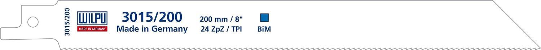 S/äbels/ägebl/ätter 5 St/ück Bi-Metall 200 mm f/ür S/äbels/äge S1122AF Wilpu 3015//200