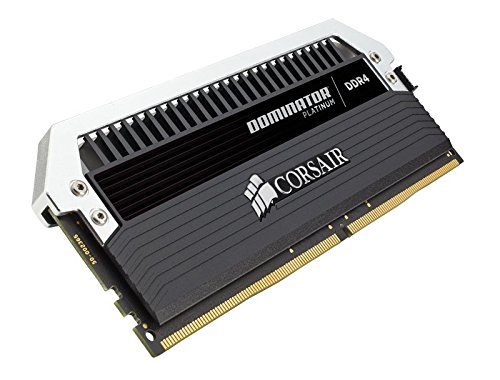 56 opinioni per Corsair CMD64GX4M4C3000C15 Kit di Memoria da 16 GB, DDR4, 3000 MHz, CL15, Kit 4